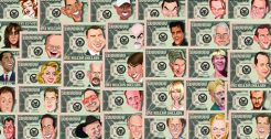 U.S. Celebrity Million Dollar Bills