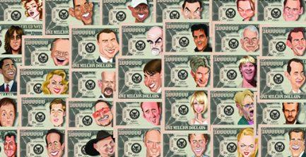 U.S. Celebrity Million Dollar Bills