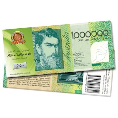 Aussie Million Dollar Note - Retail