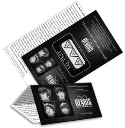 Genius fold out tract