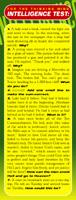 IQ Test Bookmark
