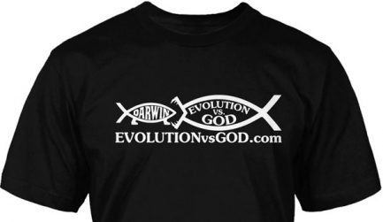 EvG Fish Eating Darwin Tee